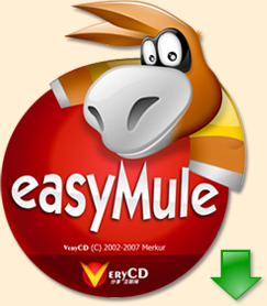 Thanks for coming to this project. easyMule Xtended is another modification of eMule easymule. Written for advanced newbie users it has brand new user interface. By VeryCD team from China and MoDs.sub.cc equiped with more features.